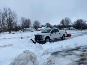 Snow Removal parking lot