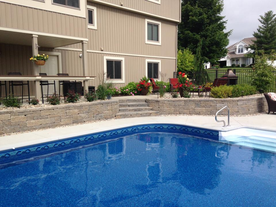 retainingwallzeeland  ClearBrook Landscaping and Lawncare